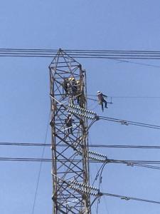 กฟผ.รุดช่วยประชาชน พร้อมเร่งซ่อมแนวสายส่งไฟฟ้าแรงสูงที่ได้รับความเสียหายจากท่อก๊าซฯ