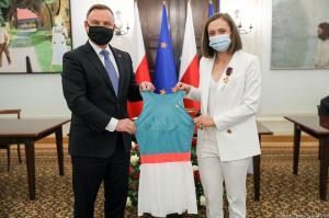 สเวียเท็ก เจอผู้นำโปแลนด์ ที่ไม่รู้ว่าอีกฝ่ายติดเชื้อโควิด