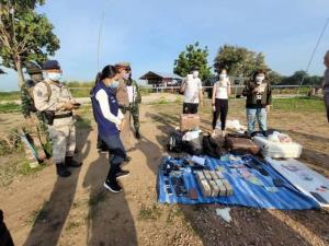 ตะลึง! พบ 3 ชาย-หญิงชาวจีน 1 ลูกหาบพม่า หอบเงินสดๆ 8 ล้านหนีโควิดข้ามเมยเข้าไทย