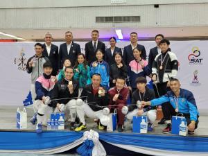 """""""จ่าภัทร"""" สอนเชิงรุ่นน้องทีมชาติ เข้าวินเอเป้ชาย ชิงแชมป์ประเทศไทย"""