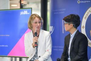 JOB FAIR & Management Forum CMMU Mahidol ได้ความรู้ มีงานทำ ครบจบในงานเดียว