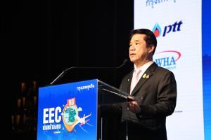 """""""สุริยะ"""" ลั่นการเมืองไม่กระทบลงทุน เดินหน้า """"อีอีซี"""" ดึงต่างชาติย้ายฐานเข้าไทยเพิ่ม"""