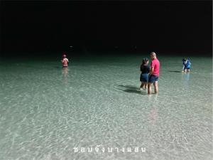 อัปเดตความสวยทะเลบางแสน น้ำใสจนมองทะลุเห็นปูม้าเดินอยู่ใต้น้ำ