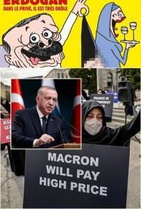 """In Clip: """"ชาร์ลี เอ็ปโด"""" วาดการ์ตูนล้อ """"แอร์โดอัน"""" ทำให้ตุรกีโกรธเป็นไฟ"""