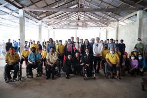 """""""นฤมล""""สานฝันคนพิการจังหวัดน่าน สร้างอาชีพมีรายได้ขับเคลื่อนไทยไปด้วยกัน"""