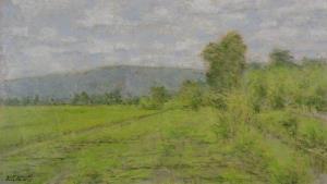 สามจิตรกรสีน้ำอวดสีสันในนิทรรศการ 'Solitude'