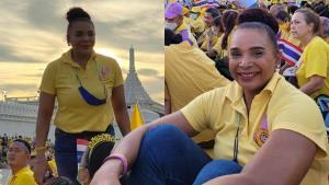 """ตำนานนักวิ่ง """"เรวดี ศรีท้าว"""" พูดแทนใจคนไทย """"ใส่เสื้อเหลืองทำไมต้องกลัว"""" ใช้เมตตาเอาชนะเกลียดชัง"""
