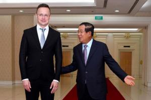 น่าเป็นห่วง...รัฐมนตรีฮังการีตรวจเจอโควิดหลังถก 'ฮุนเซน' ใกล้ชิดในพนมเปญ
