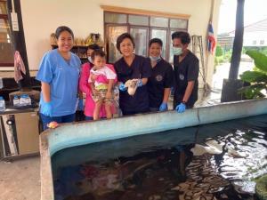 อุทาหรณ์! หนูน้อยทำหมวกตกน้ำพบปลาตะกละกลืนลงท้อง โชคดีหมอช่วยชีวิตนำออกได้ทัน