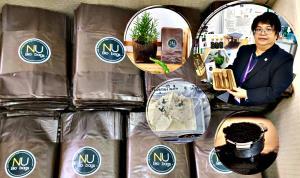 """(ชมคลิป) """"NU Bio Bags"""" แปรรูปกากกาแฟเป็นพลาสติกรักษ์โลก ย่อยสลายเองได้ ไม่ก่อมลพิษ ลดขยะลดต้นทุน"""
