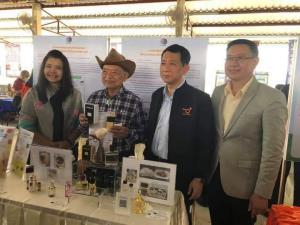 น้ำหอมจากขนแพะ ความสำเร็จครั้งแรกนักวิจัยไทย