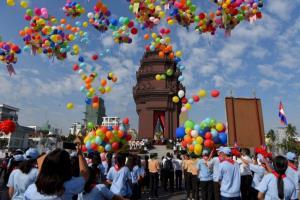 กัมพูชาฉลองวันชาติครบรอบ 67 ปี