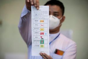 พรรคอองซานซูจีอ้างชนะเลือกตั้ง หลังผลนับคะแนนไม่เป็นทางการนำลิ่ว
