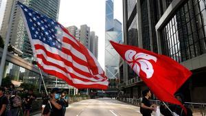 สหรัฐฯ คว่ำบาตร จนท.จีนเพิ่มอีก 4 คน ฐานเอี่ยวปราบ 'ม็อบฮ่องกง'
