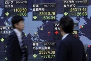 ตลาดหุ้นเอเชียปรับลบ หุ้นเทคโนโลยีร่วงกดดันตลาด