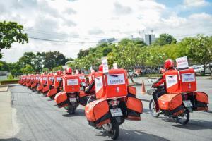 ไปรษณีย์ไทยชูภาพขนส่งของชาติผูกพันกับคนไทย ตอกย้ำความมุ่งมั่นในการให้บริการ
