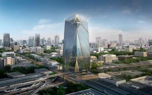 Spring Towerได้รับการรับรอง LEED GoldCertified