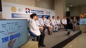 น่าตกใจ! ผู้ป่วยเบาหวานไทยทะลุ 4.8 ล้านคน รพ.กรุงเทพพัทยาเร่งกิจกรรมให้ความรู้