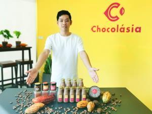 เปิดตัวเกษตรกรสายโกโก้ ทั้งบุกเบิกและแปรรูปโกโก้ไทย-ช็อกโกแลตครบวงจร