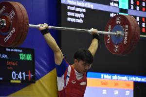 'ธีรพัฒน์' ซิว 2 ทอง รุ่น 55 กก. ศึก EGAT (อีแกท) ยกน้ำหนักเยาวชนชิงแชมป์ประเทศไทย