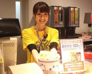 """ญี่ปุ่นท้าโควิด เปิดทางโรงหนังนั่งเต็มทุกที่ถ้า """"ขายป๊อปคอร์น"""""""