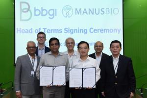 """""""บีบีจีไอ"""" ผนึก Manus Bio เล็งตั้ง รง.ผลิตภัณฑ์ชีวภาพในไทย"""