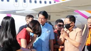 มั่นใจไทยสมายล์บินตรงสุวรรณภูมิ-นครพนมช่วยดันเศรษฐกิจ-ท่องเที่ยวโตเพิ่ม