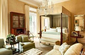 ห้องนอนหลักสมัยบารัค โอบามา