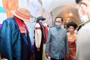 นายกฯ รณรงค์วันเอดส์โลกประจำปี 2563 ร่วมประชาสัมพันธ์งานมหกรรมผ้าไหมไทยสู่เส้นทางโลก