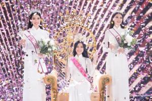 นักศึกษาสาว ม.เศรษฐศาสตร์จากภาคกลาง คว้ามงกุฎมิสเวียดนาม 2020