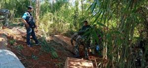 เผ่นกันป่าราบ! ซุ่มจับแก๊งไม้เถื่อนรับออเดอร์โค่นประดู่ป่าชาติตระการแปรรูปส่งนายทุน