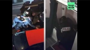 อย่างโหด! แพร่คลิปแฉตำรวจฝรั่งเศสบุกที่ทำงานรุมยำคนผิวสีเจ็บหนัก คาดไม่สวมหน้ากากกันโควิด (ชมวิดีโอ)