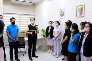 กรมการแพทย์ติดตามการักษาผู้ป่วยมะเร็ง ในสถานการณ์การแพร่ระบาดของเชื้อไวรัสโควิด-19