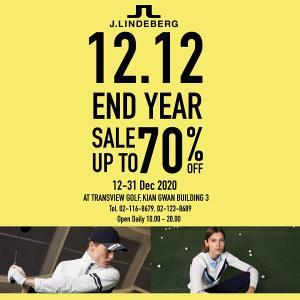 """ทรานส์วิว กอล์ฟ จัด """"J.Lindeberg 12.12 End Year Sale"""" ส่งท้ายปี"""