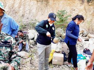 เร่งช่วยช้างป่าได้รับบาดเจ็บที่ป่าปราณบุรี พร้อมเฝ้าสังเกตอาการต่อเนื่อง