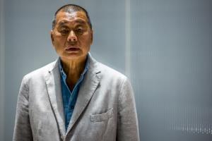 """ตร.ฮ่องกงเผย """"จิมมี ไล"""" เจ้าพ่อสื่อฮ่องกงเตรียมขึ้นศาลคดีความมั่นคงชาติวันนี้"""