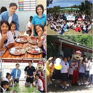 Beko จับมือไทวัสดุ เดินหน้าโครงการ 'ปันสุขทั่วไทย สร้างสุขภาพชีวิตที่ดีให้เด็กไทยรุ่นใหม่'