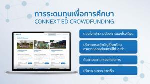 ทำความรู้จัก CONNEXTED CROWDFUNDING มิติใหม่ของการมีส่วนร่วมเปลี่ยนแปลงอนาคตการศึกษาไทย พร้อมเจาะลึก 5 จุดเด่นการระดมทุนเพื่อการศึกษา ที่การันตีความโปร่งใส