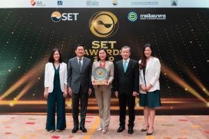 VGI รับรางวัลนักลงทุนสัมพันธ์ยอดเยี่ยม ในงาน SET AWARDS 2020