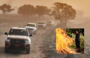 """ขับ """"ฟอร์ด เรนเจอร์"""" ลุยอุทยานแห่งชาติทุ่งแสลงหลวง เรียนรู้ """"การชิงเผา"""" ภารกิจปกป้องไฟไหม้ป่า กับผู้พิทักษ์ป่าหญิงคนแรกในไทย"""