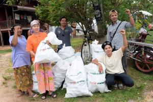การช่วยเหลือโดยมูลนิธิโคคา-โคลา ประเทศไทย และ IUCN