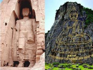 พระพุทธรูปใหญ่ที่สุดในโลก ๒ องค์! สลักในหน้าผาด้วยเทคโนโลยีที่ห่างกันถึง ๑,๕๐๐ ปี!!