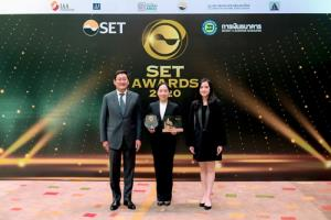ช.การช่าง คว้า 2 รางวัล จากงาน SET AWARDS 2020