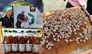 """""""สุภาฟาร์มผึ้ง"""" สร้างจุดขายน้ำผึ้งจากดอกไม้ต่างชนิด ชูรสสัมผัสที่มีมากกว่าความหวาน"""