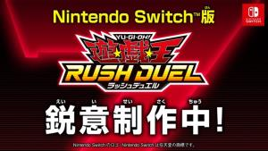 """โคนามิส่งเกมดวลการ์ด """"Yu-Gi-Oh! Rush Duel"""" ลงเครื่องสวิตช์"""