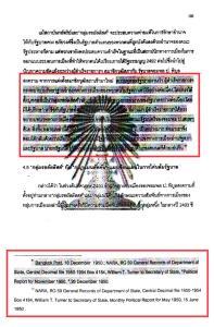 หน้าที่ 105 ใน วิทยานิพนธ์การเมืองไทยสมัยรัฐบาลจอมพล ป.พิบูลสงคราม ภายใต้ระเบียบโลกของสหรัฐอเมริกา (พ.ศ. 2491-2500) ของณัฐพล ใจจริง