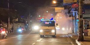 ไม่มีเคานต์ดาวน์แต่มียาฆ่าเชื้อพ่นทั่วเมืองพัทยาคืนส่งท้ายปี เป็นของขวัญปีใหม่ประชาชน