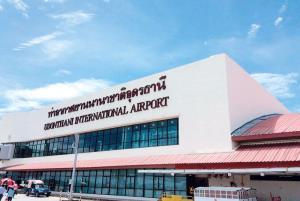 สนามบินอุดรฯ แชมป์ภูธร ครองสถิติผู้โดยสารสูงสุดปี 63 กว่า 1.4 ล้านคน