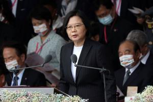 ผู้นำไต้หวันปราศรัยปีใหม่หยอดคำหวานจีน แต่ไม่คิดอ่อนข้อ