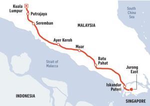 """ขอจอดแค่นี้! รถไฟความเร็วสูง """"สิงคโปร์-มาเลย์"""" ระงับสร้างหลังเจรจายืดเยื้อ"""